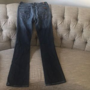 7 For All Mankind Boycut Jeans Woman's 25